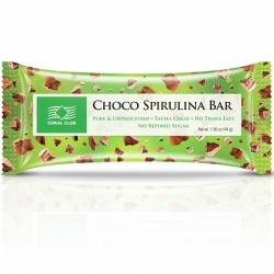 Батончик «Шоко со спирулиной» / Choco Spirulina Bar