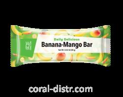 Batonchik Daley Delicious Bananen-Mango-Bar / Daily Delicious Banana-Mango Bar